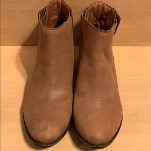 Lucky Brand Ankle Leather Boots (Used)